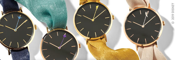 It's Time to be a Princess : découvrez les montres Princesses Disney