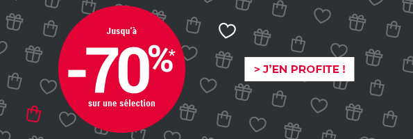 Black Friday | Jusqu'à -70%
