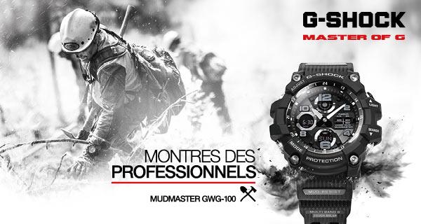 Montres G-SHOCK Premium | MATY bijoutier