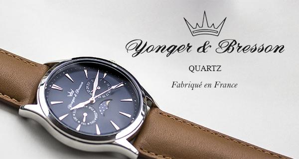 Montres Yonger & Bresson Quartz   MATY bijoutier