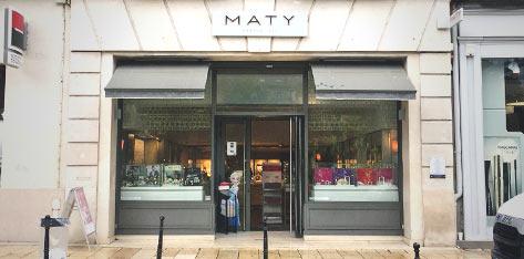 site réputé correspondant en couleur coupe classique Bijouterie / Horlogerie à Grenoble – Bijoux et Montres MATY