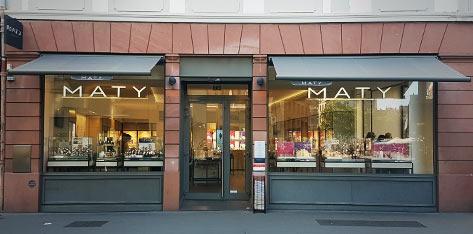 original à chaud coupon de réduction grand choix de 2019 Bijouterie / Horlogerie à Strasbourg – Bijoux et Montres MATY