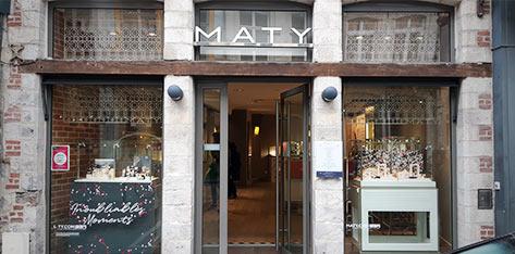 hot-vente authentique économies fantastiques couleur attrayante Bijouterie / Horlogerie à Lille – Bijoux et Montres MATY