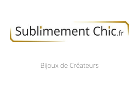 Sublimement Chic
