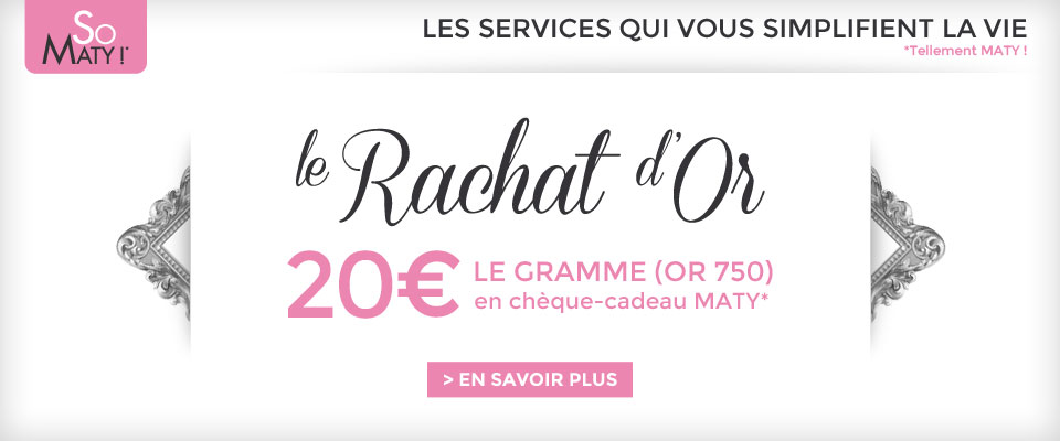 Rachat d'or : 20€ le gramme d'or 750'