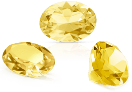 Pierres fines : citrine