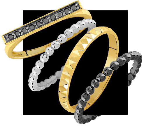 Collection Mixy Rings