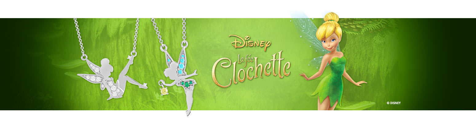 Bijoux collection Disney La Fée Clochette