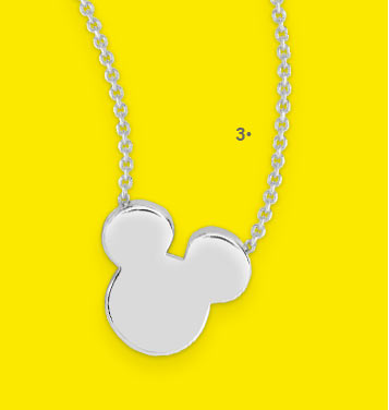 Collier Argent 925 Mickey | Disney