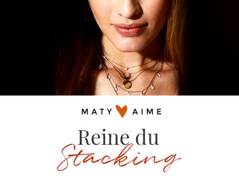 MATY Aime Look Reines du stacking