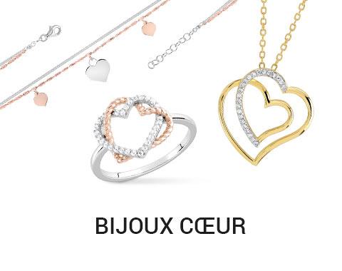 magasin en ligne 3ef38 69b5b Sélection bijoux femme pas chers - coeur femme - bijouterie ...