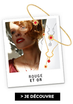 Créations Exclusives : Rouge et Or